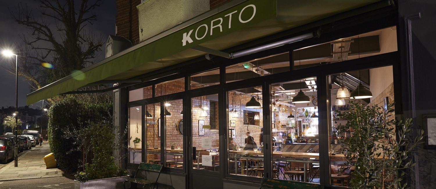 Korto Restaurant Muswell Hill Open 7 Days Per Week Korto