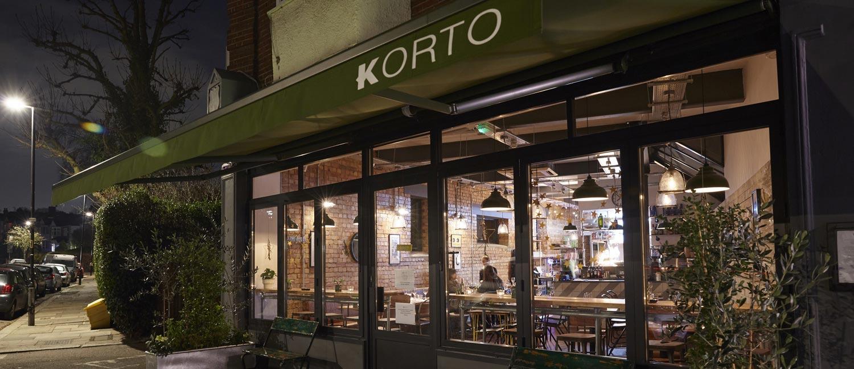Korto Restaurant in Muswell Hill