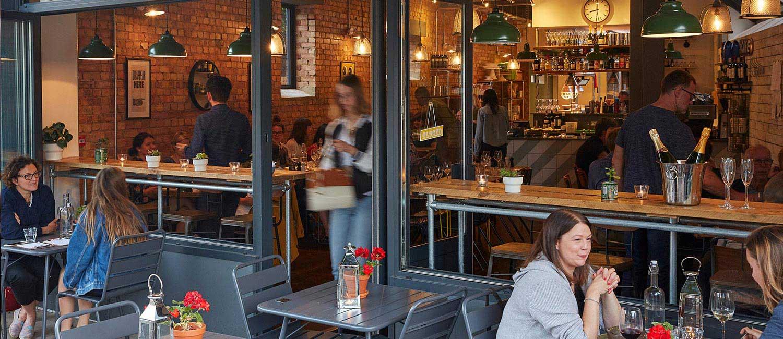 Korto Restaurant by day